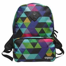 Ghiozdant multicolor pentru scoala Bagoose 45 cm