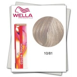 Vopsea fara Amoniac - Wella Professionals Color Touch nuanta 10/81 blond luminos albastru cenusiu
