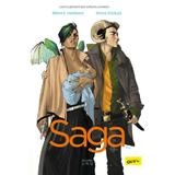 Saga Vol. 1 - Brian Keller Vaughan, Fiona Staples, editura Grupul Editorial Art
