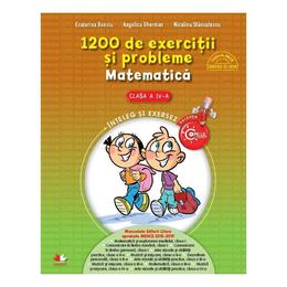 Matematica - Clasa a 4-a - 1200 de exercitii si probleme - Ecaterina Bonciu, Angelica Gherman, editura Litera