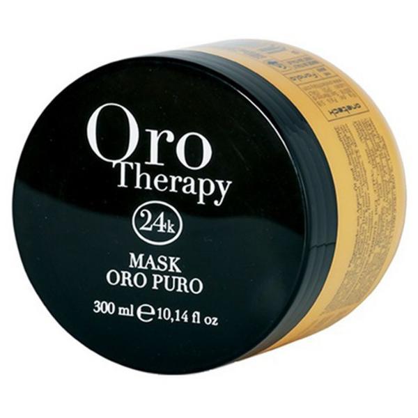 Masca Iluminatoare cu Cheratina si Argan - Fanola Oro Therapy Illuminating Mask with Keratin and Argan, 300ml esteto.ro