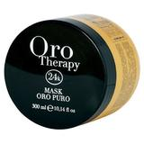 Masca Iluminatoare cu Cheratina si Argan - Fanola Oro Therapy Illuminating Mask with Keratin and Argan, 300ml