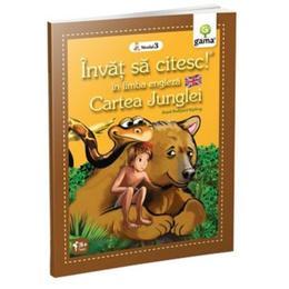 Invat sa citesc in limba engleza - Cartea junglei - Nivelul 3, editura Gama