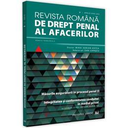 Revista romana de drept penal al afacerilor Nr.2 Aprilie-Iunie 2019, editura Universul Juridic