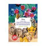 Disney. Prima mea enciclopedie cu autocolante: Animale. Plante, editura Litera