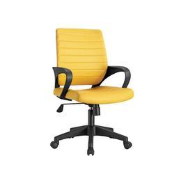 Scaun birou SL Q051, galben