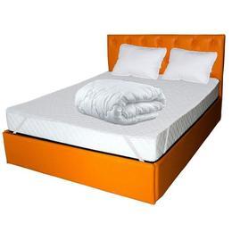 Saltea Pegas Comfort Flex +2 perne microfibra 50x70 +Husa hipoalergenica + pilota microfibra vara 180x200, 160x200x20