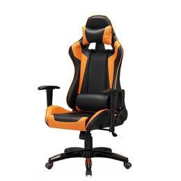 Scaun gaming HM Defender, negru/portocaliu