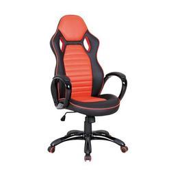 Scaun gaming SL Q105, negru/portocaliu