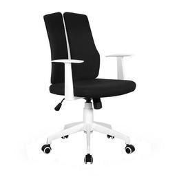 Scaun birou HM Iron 2 alb - negru