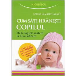Cum sa-ti hranesti copilul - Louise Lambert-Lagace, editura Niculescu