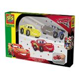 Set de creatie cu margele SES Beedz, Disney Cars 3, 1300 pc, Multicolor