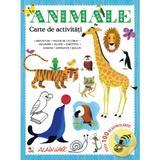 Animale. carte de activitati. peste 100 de autocolante