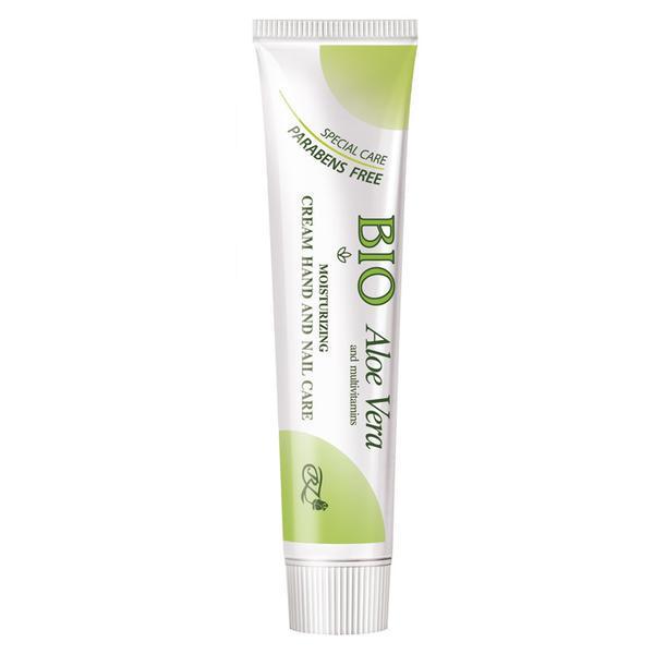 Crema hidratanta pentru maini si unghii cu Aloe Vera Rosa Impex, 45 ml imagine produs