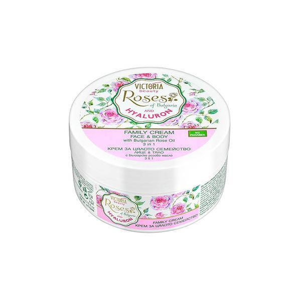 Crema universala cu trandafiri si acid hialuronic Camco, 200 ml poza