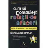 Cum sa construiesti relatii de afaceri in 90 de secunde... sau mai putin - Nicholas Boothman, editura Amaltea