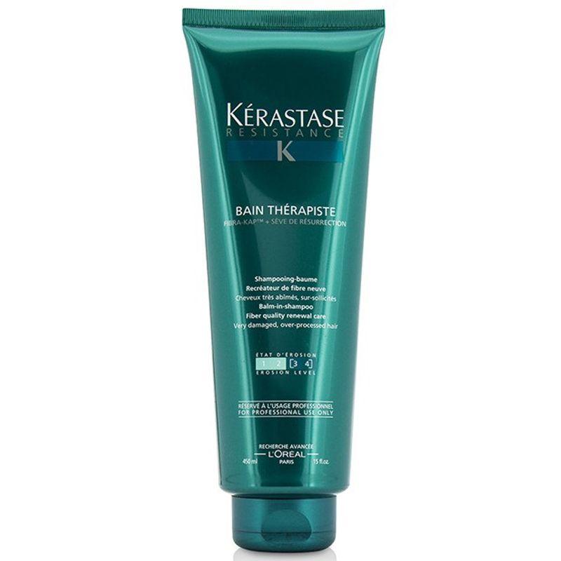 Sampon Par Foarte Deteriorat - Kerastase Resistance Bain Therapiste Shampoo 450 ml