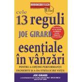 Cele 13 reguli esentiale in vanzari - Joe Girard, editura Business Tech