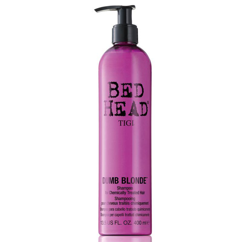 Sampon pentru Par Tratat - TIGI Bed Head Dumb Blonde Shampoo 400 ml imagine