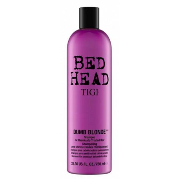 Sampon pentru Par Tratat - TIGI Bed Head Dumb Blonde Shampoo 750 ml