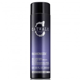 Balsam pentru Par Blond - TIGI Catwalk Fashionista Violet Conditioner 250 ml