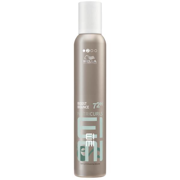 Spuma pentru Par Cret si Ondulat - Wella Professionals Eimi Nutricurls Boost Bounce 72h Curl Enhancing Mousse, 300ml imagine produs