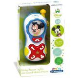 Jucarie interactiva Clementoni Baby, telefonul lui Mickey Mouse cu sunete si lumini
