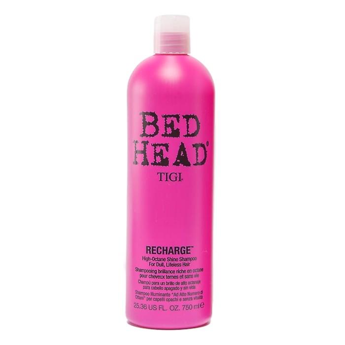 Sampon pentru Stralucire - TIGI Bed Head Recharge Shampoo 750 ml imagine