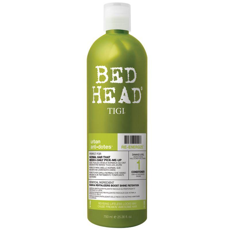 Balsam Energizant - TIGI Bed Head Urban Antidotes Re-Energize Conditioner 750 ml imagine produs