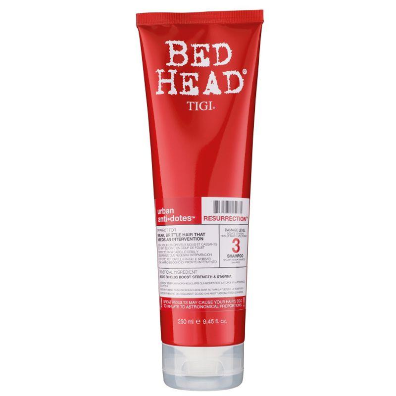 Sampon pentru Par Fragil - TIGI Bed Head Urban Antidotes Resurrection Shampoo 250 ml imagine