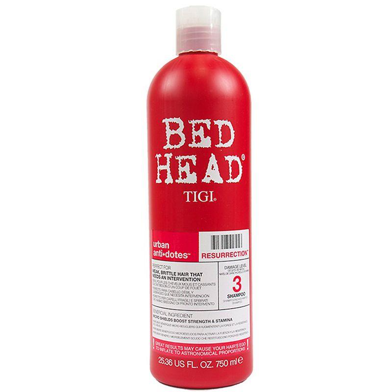 Sampon pentru Par Fragil - TIGI Bed Head Urban Antidotes Resurrection Shampoo 750 ml imagine