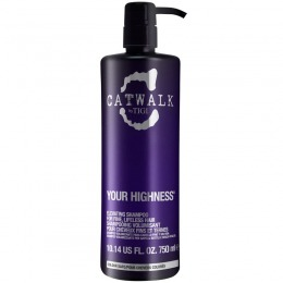 Sampon pentru Volum - TIGI Catwalk Your Highness Elevating Shampoo 750 ml