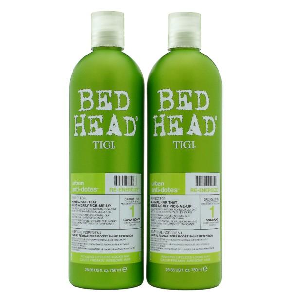 Pachet Energizant - TIGI Bed Head Urban Antidotes Re-Energize 750 ml imagine produs
