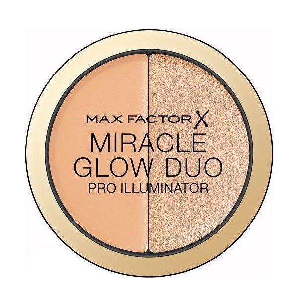 Max Factor Miracle Glow Duo Iluminator cremă 20 Medium 11g imagine produs