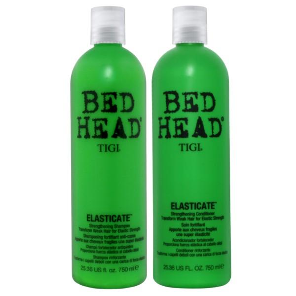Pachet pentru Par Fragil - TIGI Bed Head Elasticate 750 ml poza