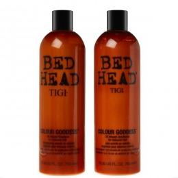 Pachet Nutritiv pentru Par Vopsit - TIGI Bed Head Colour Goddess 750 ml