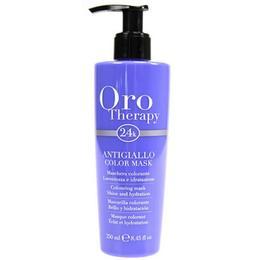 Masca Coloranta Anti-Ingalbenire - Fanola Oro Therapy Antigiallo Color Mask, 250ml