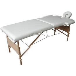 Masa de masaj portabila cu 2 sectiuni 42078540, D&S Crem, Lemn