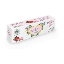Pastă de dinți cu argilă și căpșuni Bebe Drag 50ml
