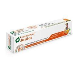 Pastă de dinți pentru copii cu argilă și portocale GennaDent Junior 80ml
