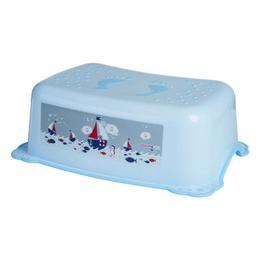 Inaltator anti-derapant pentru toaleta si chiuveta Maltex Baby Ocean&Sea Blue