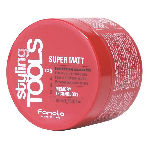 Pasta Mata pentru Definire cu Fixare Extra Puternica - Fanola Styling Tools Super Matte Extra Strong Matt Shaping Paste, 100ml imagine produs