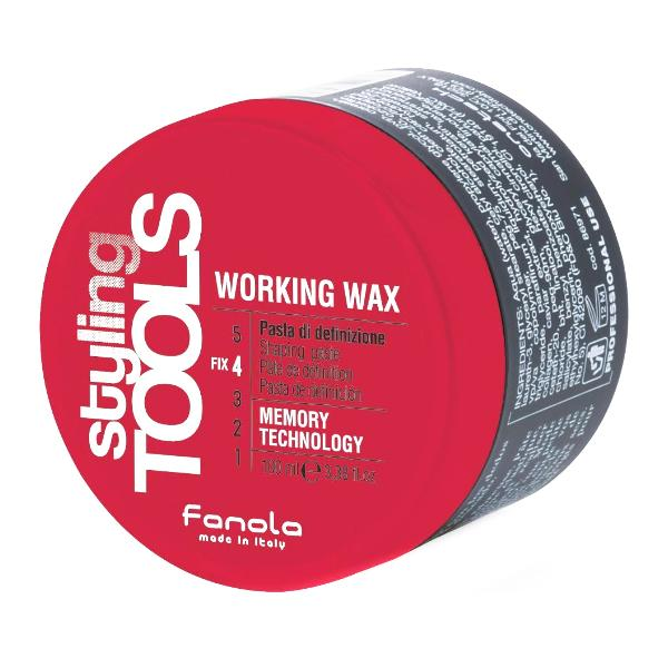 Pasta Modelatoare - Fanola Styling Tools Working Wax Shaping Paste, 100ml imagine produs