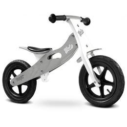 Bicicleta de lemn fara pedale Toyz Velo Gri