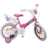Bicicleta 16 Minnie Mouse - Toimsa