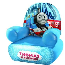 Fotoliu gonflabil Mondo, Thomas & Frinds, pentru baieti, Albastru, 50 cm