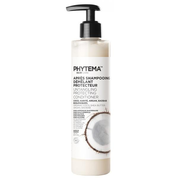 Balsam Bio protector pentru par, Apres shampooing demelant protecteur, Phytema 250ml imagine produs