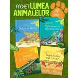 Pachet Lumea animalelor 4 vol.