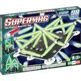 Supermag Classic Glow - Set Constructie 98 Piese