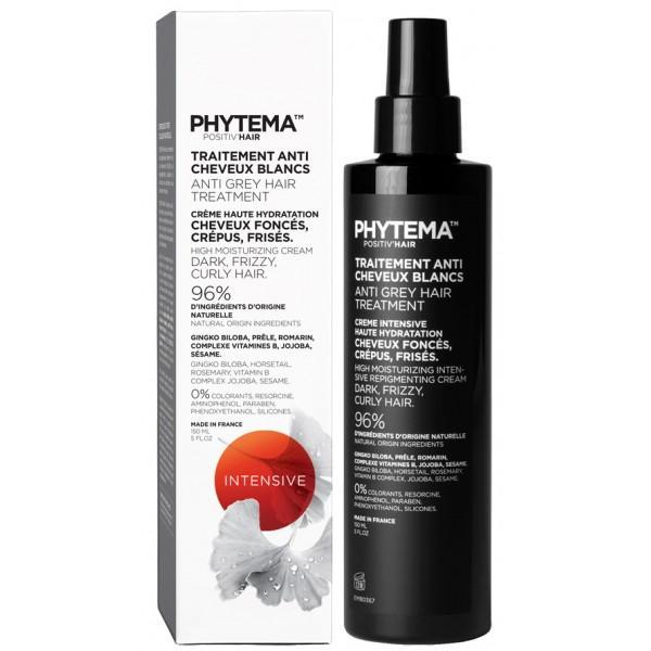 Tratament repigmentare pentru par alb sau grizonat, Creme Intensive, Positiv'Hair, Phytema 150ml